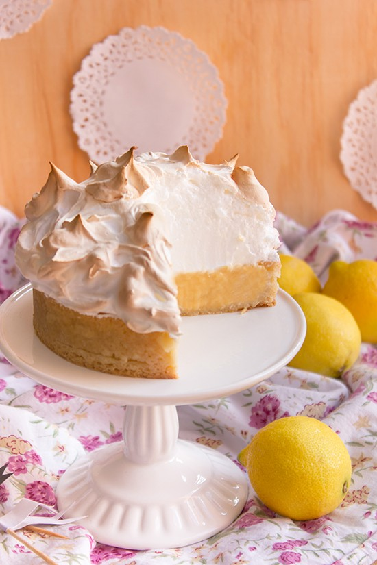 Pie merengue de limon 2
